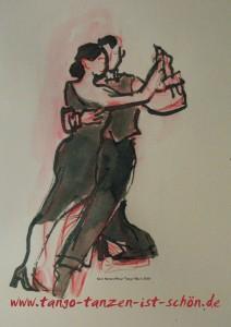 Logo Tango tanzen ist schön mit URL